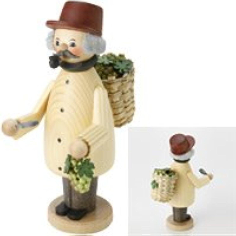 ピクニックイベント植物学者クーネルト インセンススタンド(香皿) パイプマン MINI ミニぶどう狩り