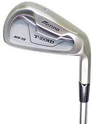 [중고] [해외] 미즈노MX 15아이언 아이언 세트4-PW MX-15(스틸,REGULAR)골프 클럽-MX-15