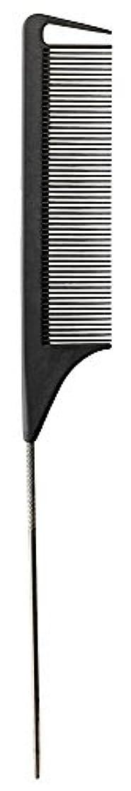みすぼらしい鑑定廃止するFromm Carbon Fine Tooth Pin Tail Comb, 9.25 Inch [並行輸入品]