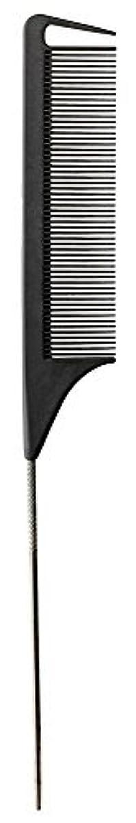 半円忘れっぽい宣教師Fromm Carbon Fine Tooth Pin Tail Comb, 9.25 Inch [並行輸入品]