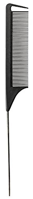 天国失態秘密のFromm Carbon Fine Tooth Pin Tail Comb, 9.25 Inch [並行輸入品]