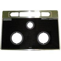 リンナイ ビルトインコンロ 【RBG-N71A8GS1R-B】専用ガラストッププレート※取り付けサービスセット商品 001-0188000