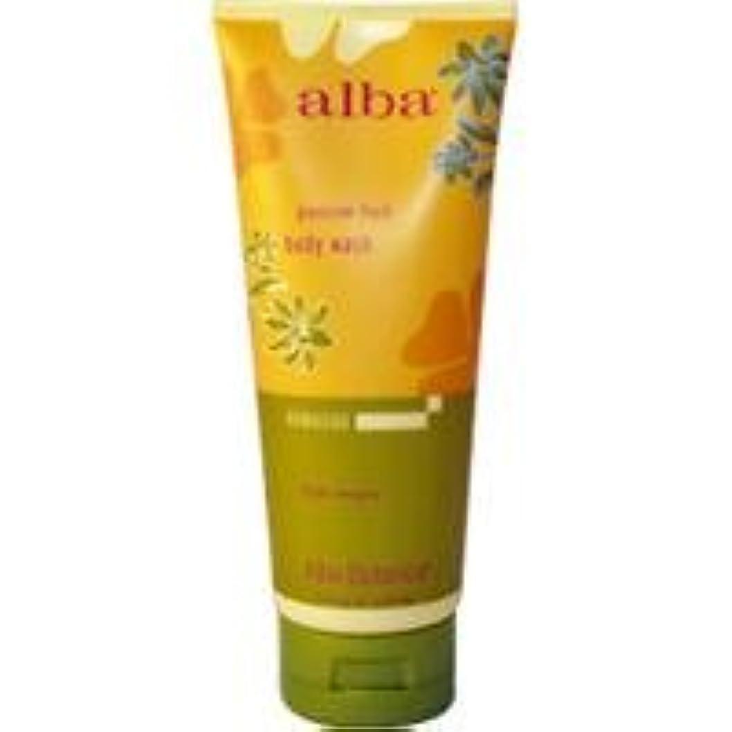 まぶしさ仕事黒くするAlba - Passion Fruit Body Wash - 7 fl oz (200 ml)~ハワイから直送~