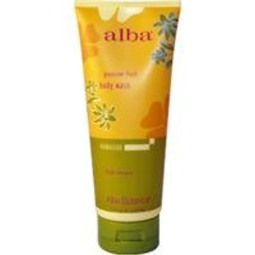 長くするマットレスの慈悲でAlba - Passion Fruit Body Wash - 7 fl oz (200 ml)~ハワイから直送~