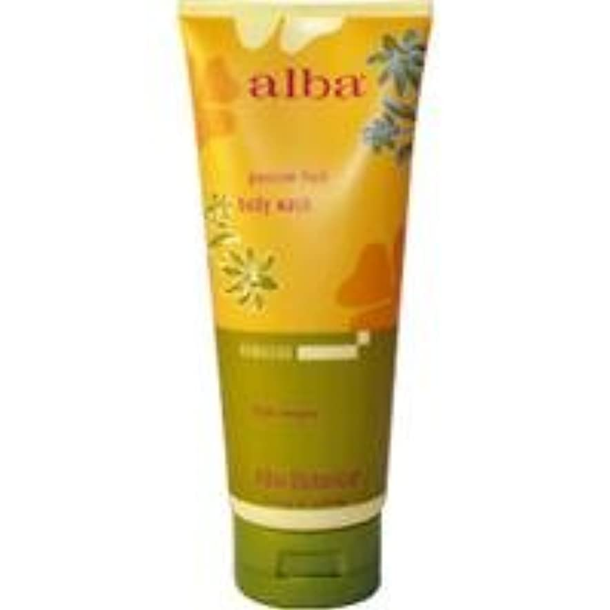 準備した散るコークスAlba - Passion Fruit Body Wash - 7 fl oz (200 ml)~ハワイから直送~