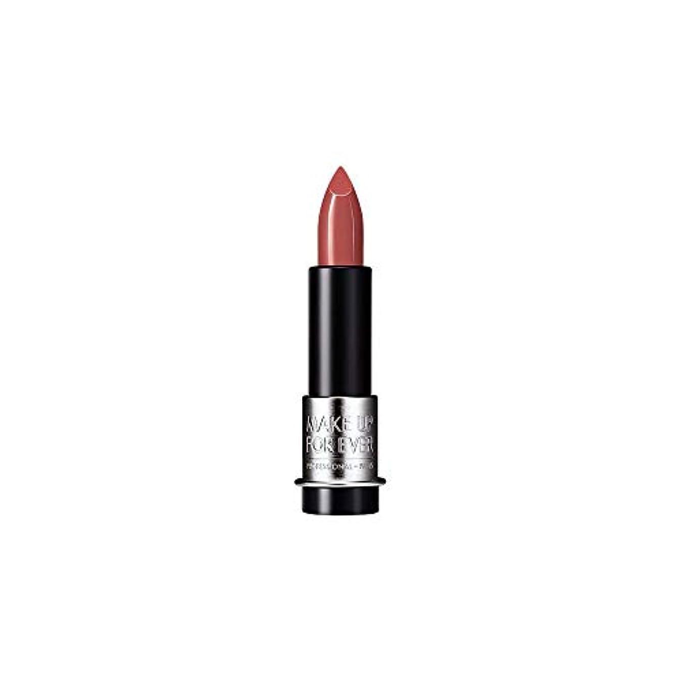 曲がった夕暮れモンク[MAKE UP FOR EVER] これまでアーティストルージュクリーム口紅3.5グラムのC108を補う - ハシバミ色ベージュ - MAKE UP FOR EVER Artist Rouge Creme Lipstick...