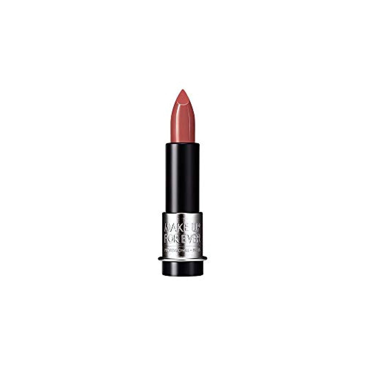 うんざりアクティビティ支店[MAKE UP FOR EVER] これまでアーティストルージュクリーム口紅3.5グラムのC108を補う - ハシバミ色ベージュ - MAKE UP FOR EVER Artist Rouge Creme Lipstick...