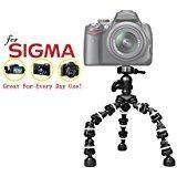 """Pro 13"""" Heavy Duty Flexipod for Sigma dp0Quattro、dp1、dp1メリル、dp1Quattro、dp1s、dp1X、dp2、dp2s、dp2メリル、dp2Quattr.."""