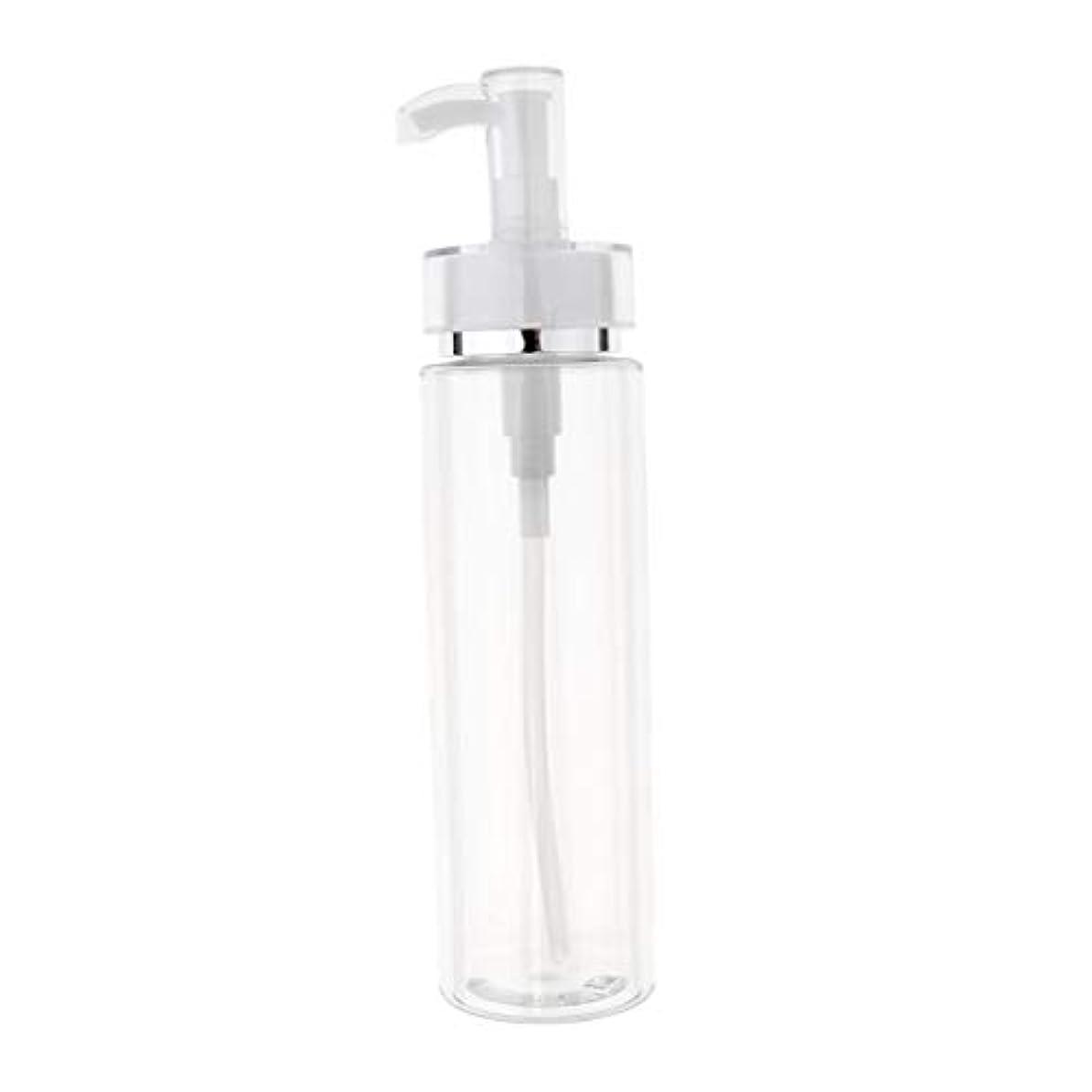 フリッパー細いフィットネス120/160/200ml 化粧品ボトル 液体ポンプボトル クリーム容器 全3サイズ - 200ミリリットル