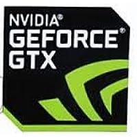 NVIDIA GEFORCE GTX エンブレムシール 17.5mm x 17.5mm