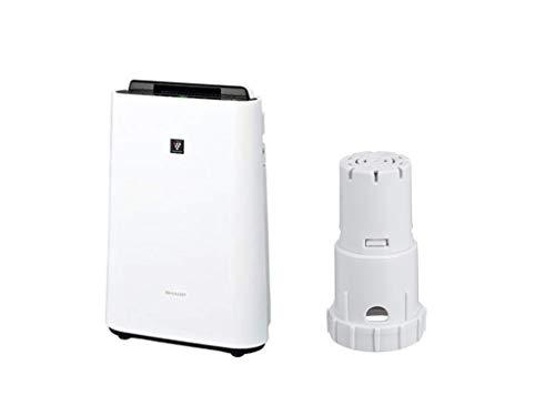 【セット販売】シャープ 加湿 空気清浄機 プラズマクラスター 7000 スタンダード 13畳 / 空気清浄 23畳 ホワイト KC-J50-W + 純正 Ag+イオンカートリッジ FZ-AG01K1