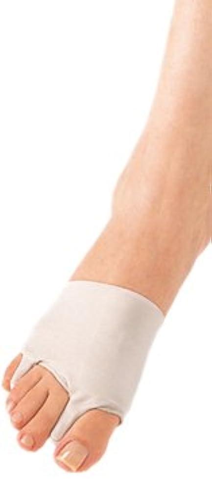 煙突み優雅ソルボ外反母趾?内反小趾サポーター(薄型)?Mサイズ(23.5~25.0cm)左足用 ベージュ