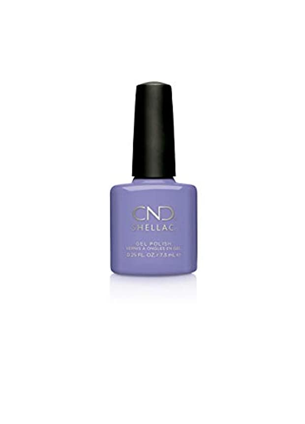 アパートグリルリットルCND Shellac Gel Polish - Wisteria Haze - 0.25oz / 7.3ml