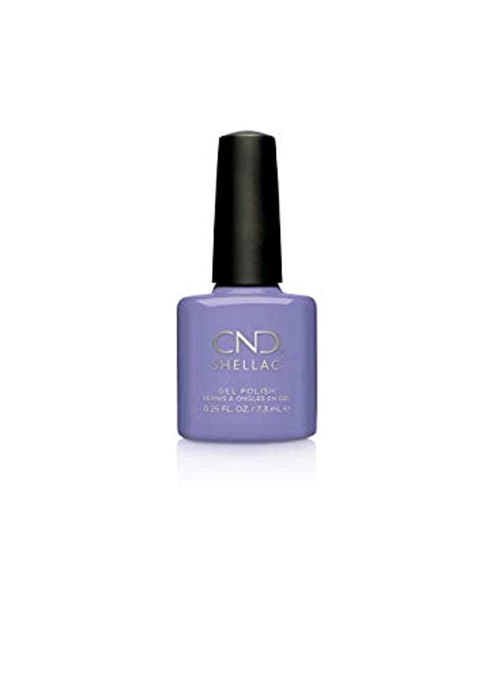 方言マスク馬鹿CND Shellac Gel Polish - Wisteria Haze - 0.25oz / 7.3ml