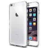 iPhone 6 Plus ケース, Spigen® [ ソフト TPU ] カプセル クリア Apple iPhone (5.5) アイフォン 6 プラス カバー (国内正規品 (クリスタル・クリア 【SGP10886】)
