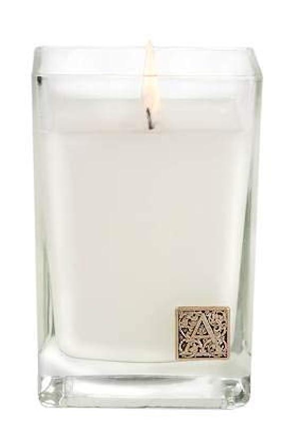 森熱帯の批判的Smell of Spring Medium Glass 350ml Cube Candle by Aromatique