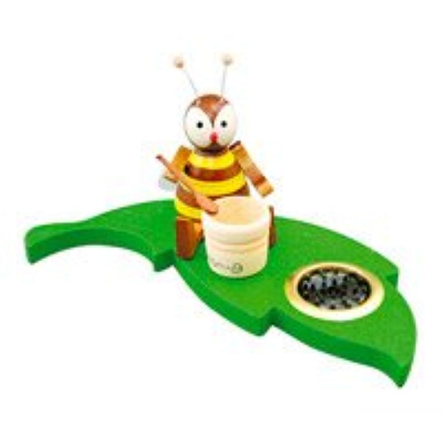 舗装する目を覚ます昼間インセンススタンド(香皿) ミツバチ ポット 【クーネルト】