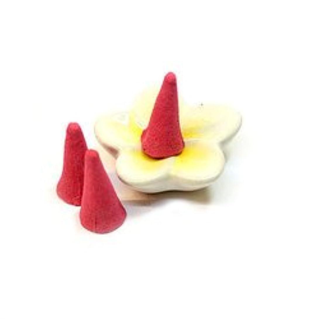 法廷どこにも実用的タイのお香 コーンタイプ インセンス ロータス アジアン雑貨