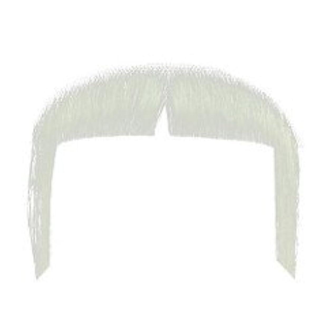 量で放散する鎖Remeehi つけひげ ヒゲ 男女用 濃密 メイクアップ 演出 道具 ホワイト
