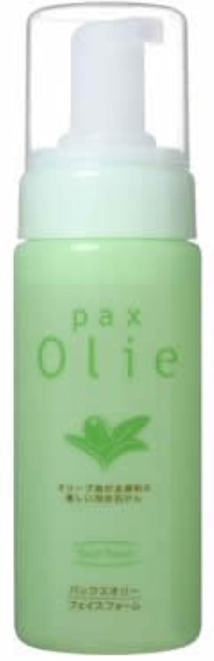 油ワットオーバーフローパックスオリー フェイスフォーム (洗顔用液体石けん) 150ml