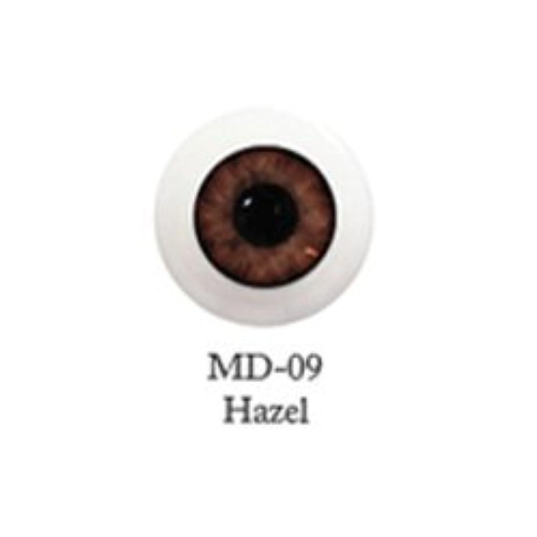 ドール用アクリルアイ ミスティックアイ 18mm 【MD-09へーゼル】(並行輸入品)