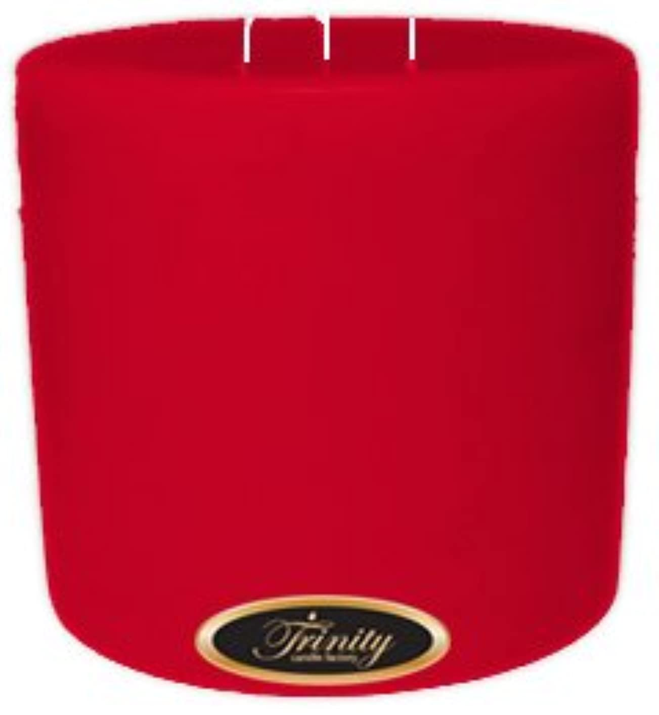 脱獄光沢彼Trinity Candle工場 – Holly Berry – Pillar Candle – 6 x 6