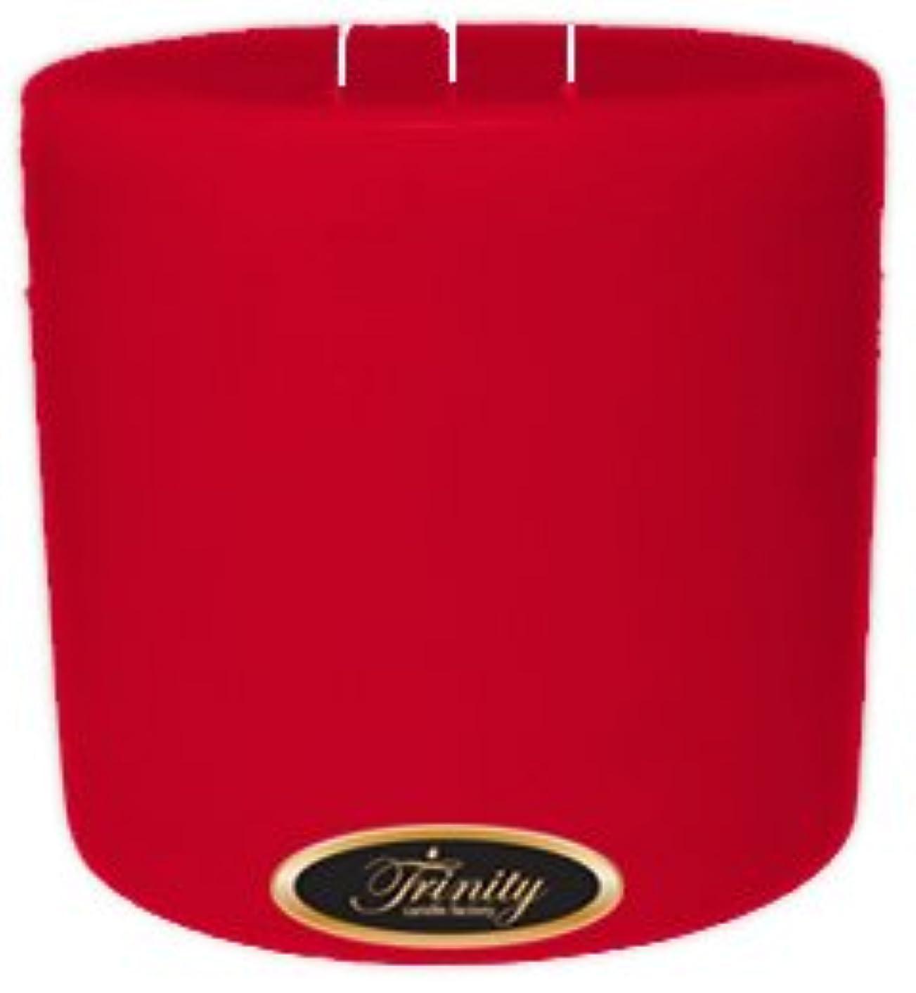 脱獄光沢彼Trinity Candle工場 – Holly Berry – Pillar Candle – 6 x 6