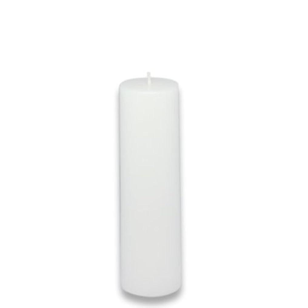 スペルポルノ料理をするZest Candle Pillar Candle, 2 by 6-Inch, White [並行輸入品]