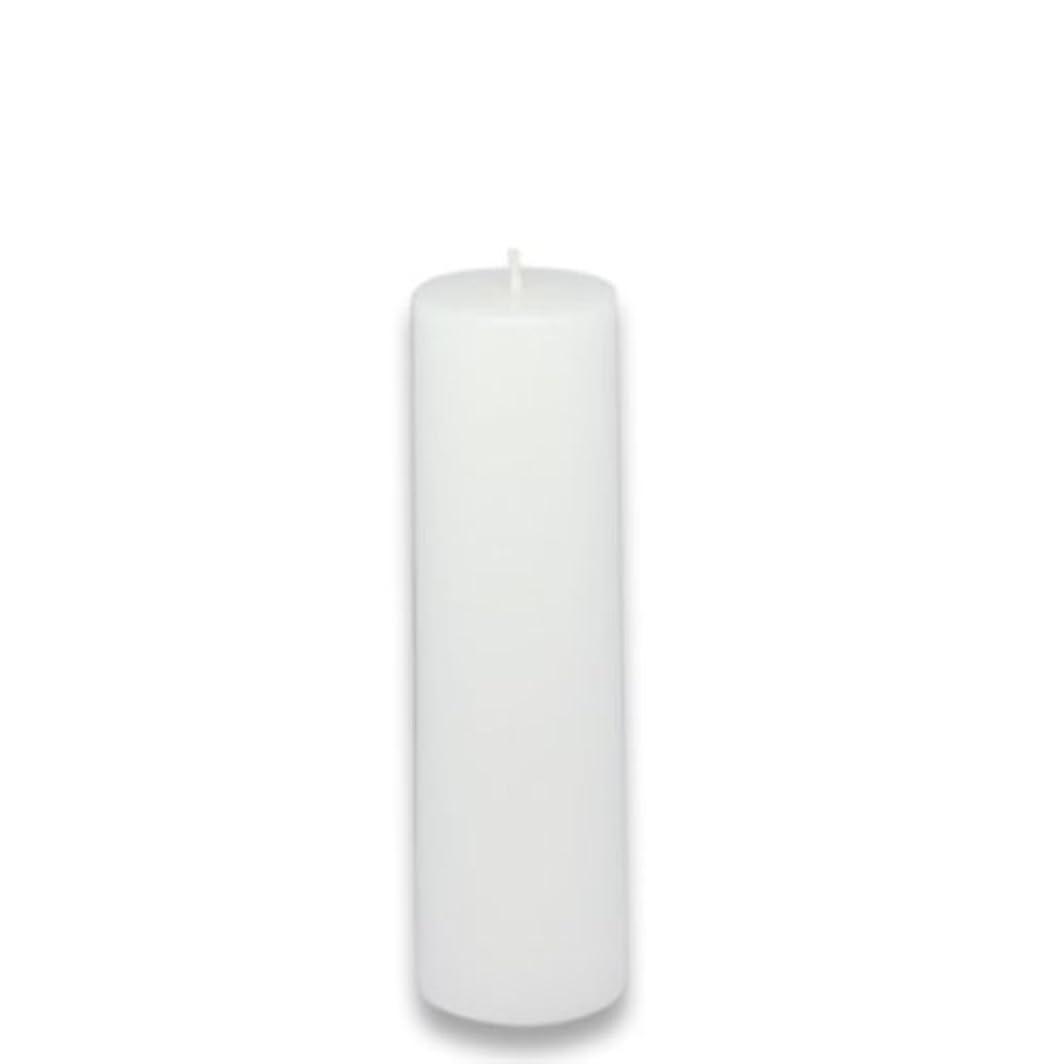 引き渡す放置奨励しますZest Candle Pillar Candle, 2 by 6-Inch, White [並行輸入品]