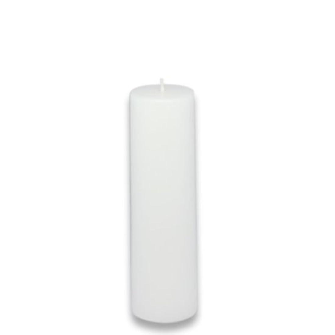 習熟度登山家政治家Zest Candle Pillar Candle, 2 by 6-Inch, White [並行輸入品]