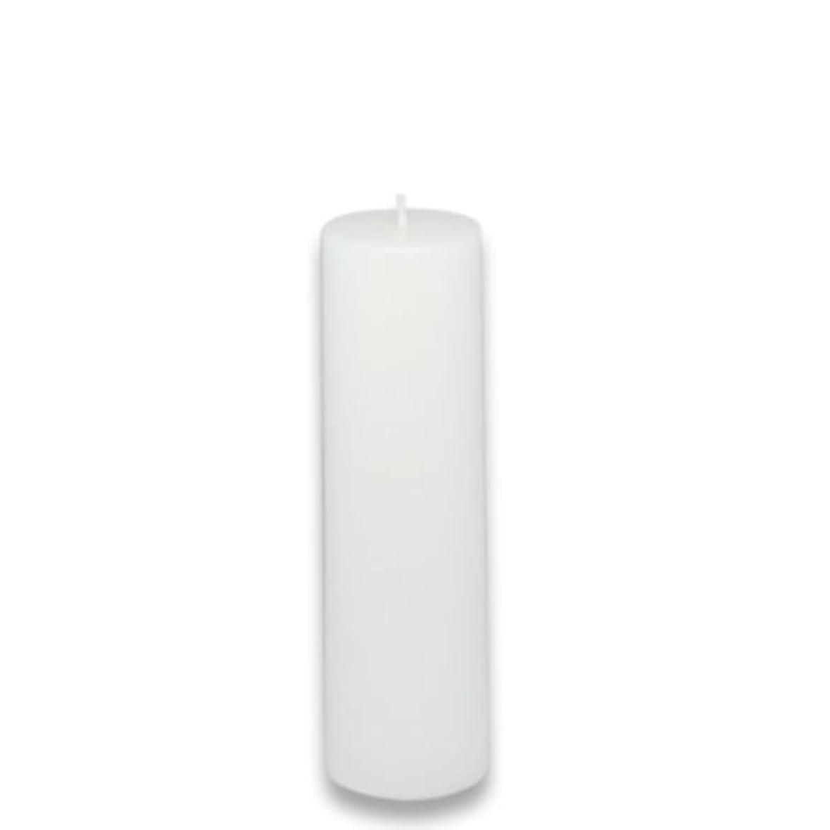 フラフープショップファセットZest Candle Pillar Candle, 2 by 6-Inch, White [並行輸入品]