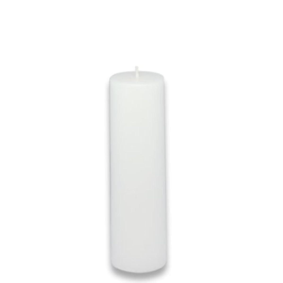 数字彼らのものマージZest Candle Pillar Candle, 2 by 6-Inch, White [並行輸入品]