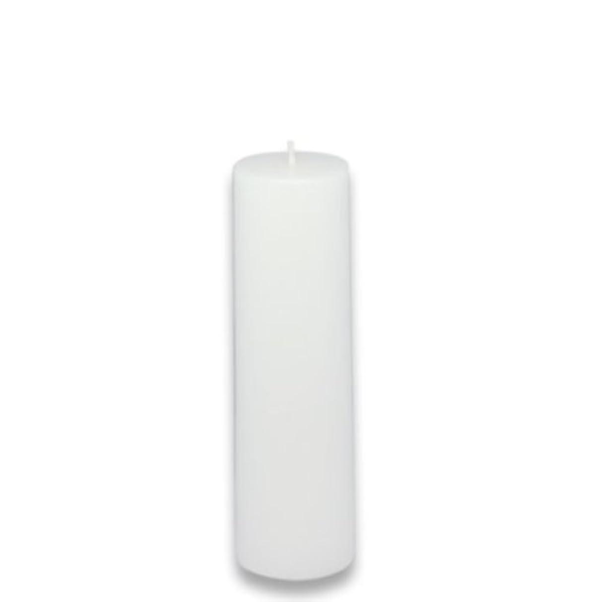 ブロック労苦学んだZest Candle Pillar Candle, 2 by 6-Inch, White [並行輸入品]