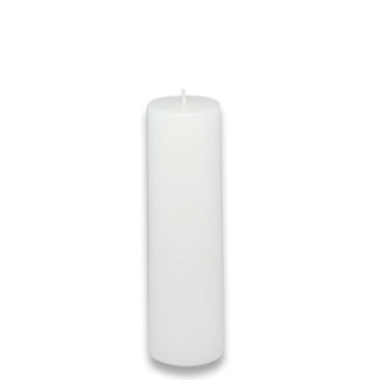 穏やかな願望マザーランドZest Candle Pillar Candle, 2 by 6-Inch, White [並行輸入品]