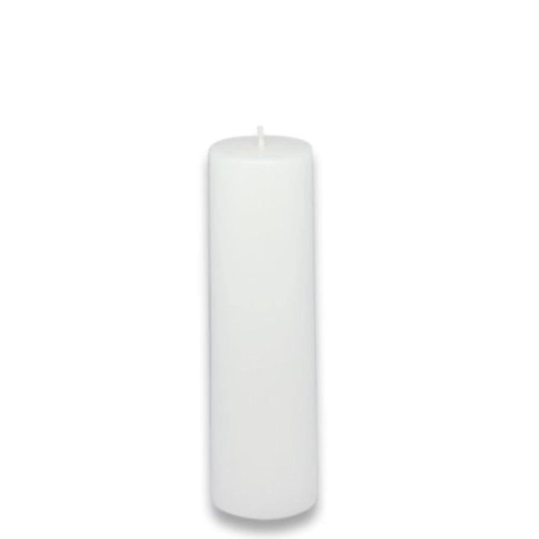 チケットメタリック絶望的なZest Candle Pillar Candle, 2 by 6-Inch, White [並行輸入品]