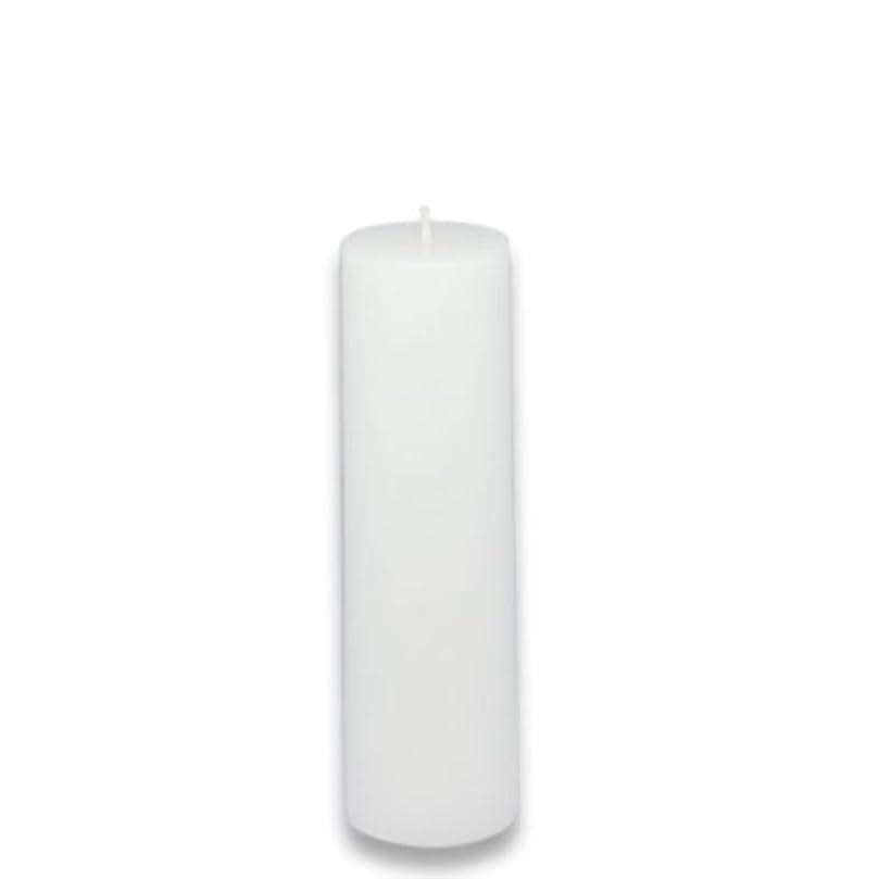 銀誇りに思う香水Zest Candle Pillar Candle, 2 by 6-Inch, White [並行輸入品]