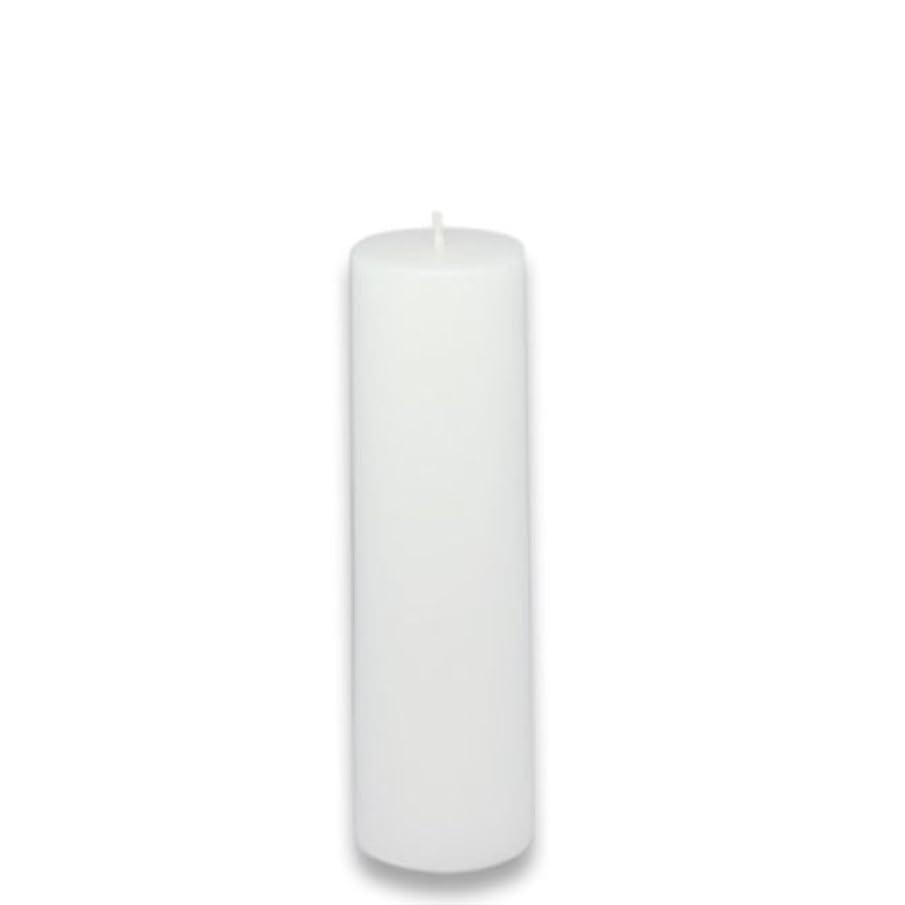 効率的ランプ起きるZest Candle Pillar Candle, 2 by 6-Inch, White [並行輸入品]