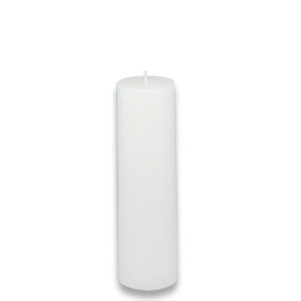 先行するアルプスエンティティZest Candle Pillar Candle, 2 by 6-Inch, White [並行輸入品]