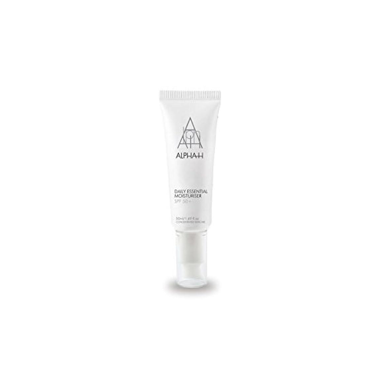 バーゲンエキスパート省略するAlpha-H Daily Essential Moisturiser Spf50+ (50ml) - アルファ毎日の必須保湿50 +(50)中 [並行輸入品]