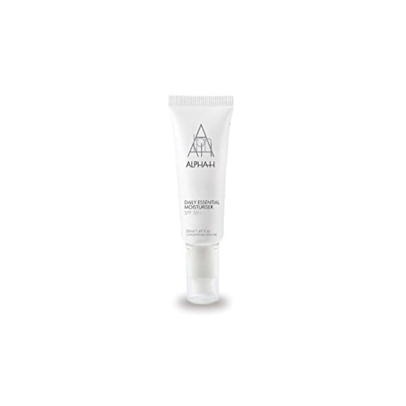 コンプリート便宜フライカイトAlpha-H Daily Essential Moisturiser Spf50+ (50ml) - アルファ毎日の必須保湿50 +(50)中 [並行輸入品]