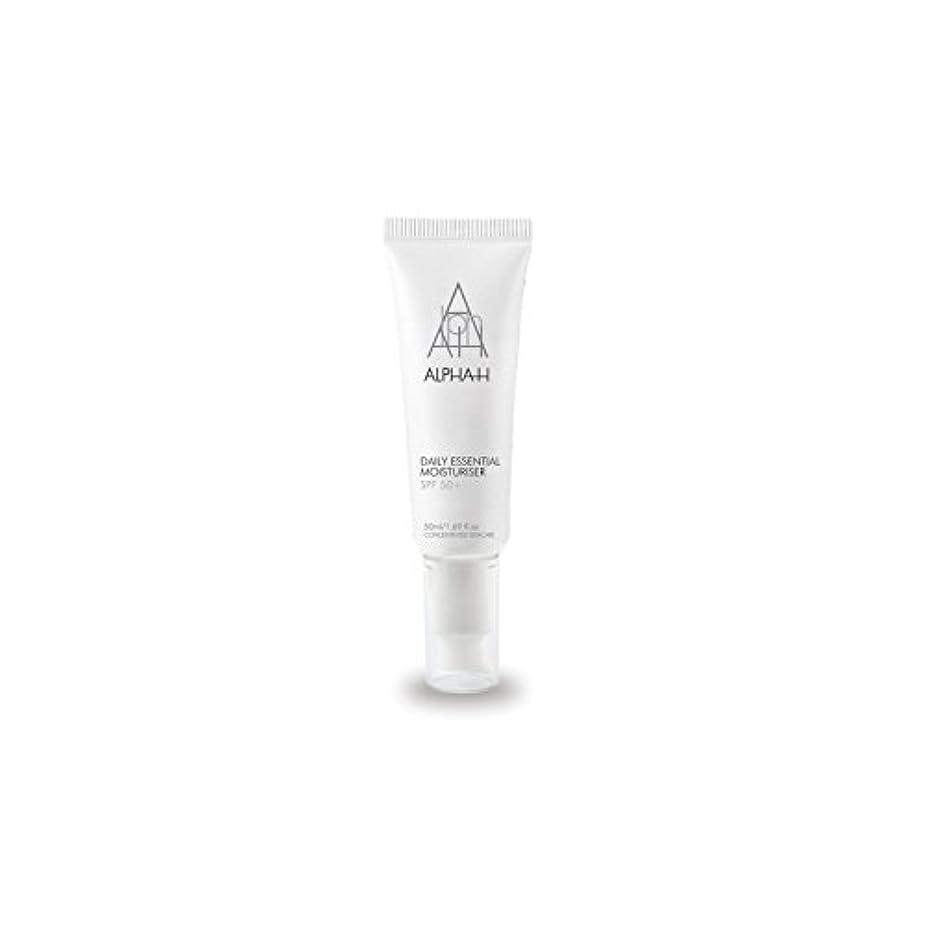 セメント繁栄する配分Alpha-H Daily Essential Moisturiser Spf50+ (50ml) - アルファ毎日の必須保湿50 +(50)中 [並行輸入品]