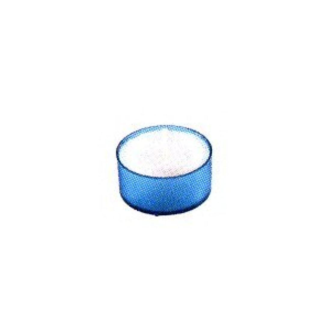 毎年シリング原油カメヤマキャンドル カラークリアカップ ティーライト ブルー 24個入
