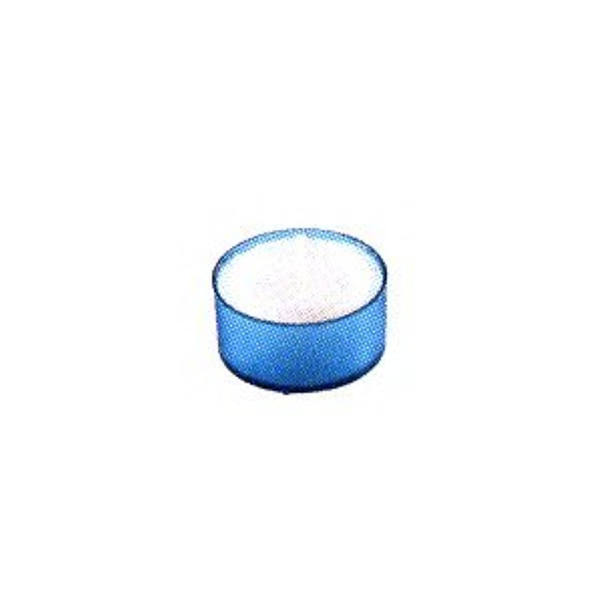 操作識別ようこそカメヤマキャンドル カラークリアカップ ティーライト ブルー 24個入