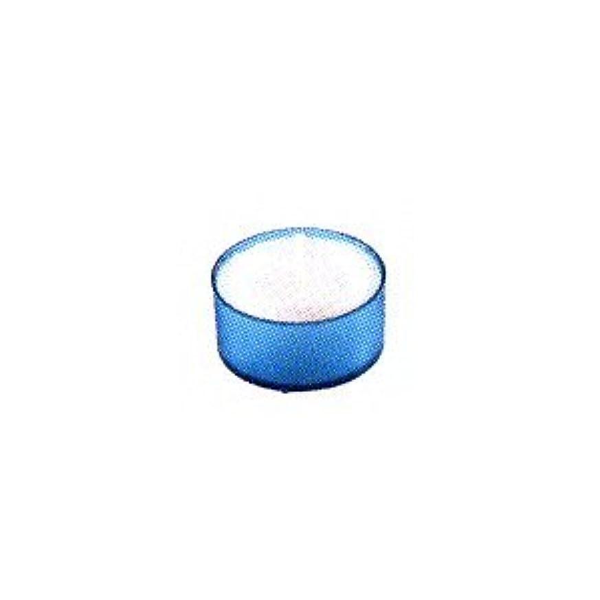 バケット蒸対象カメヤマキャンドル カラークリアカップ ティーライト ブルー 24個入