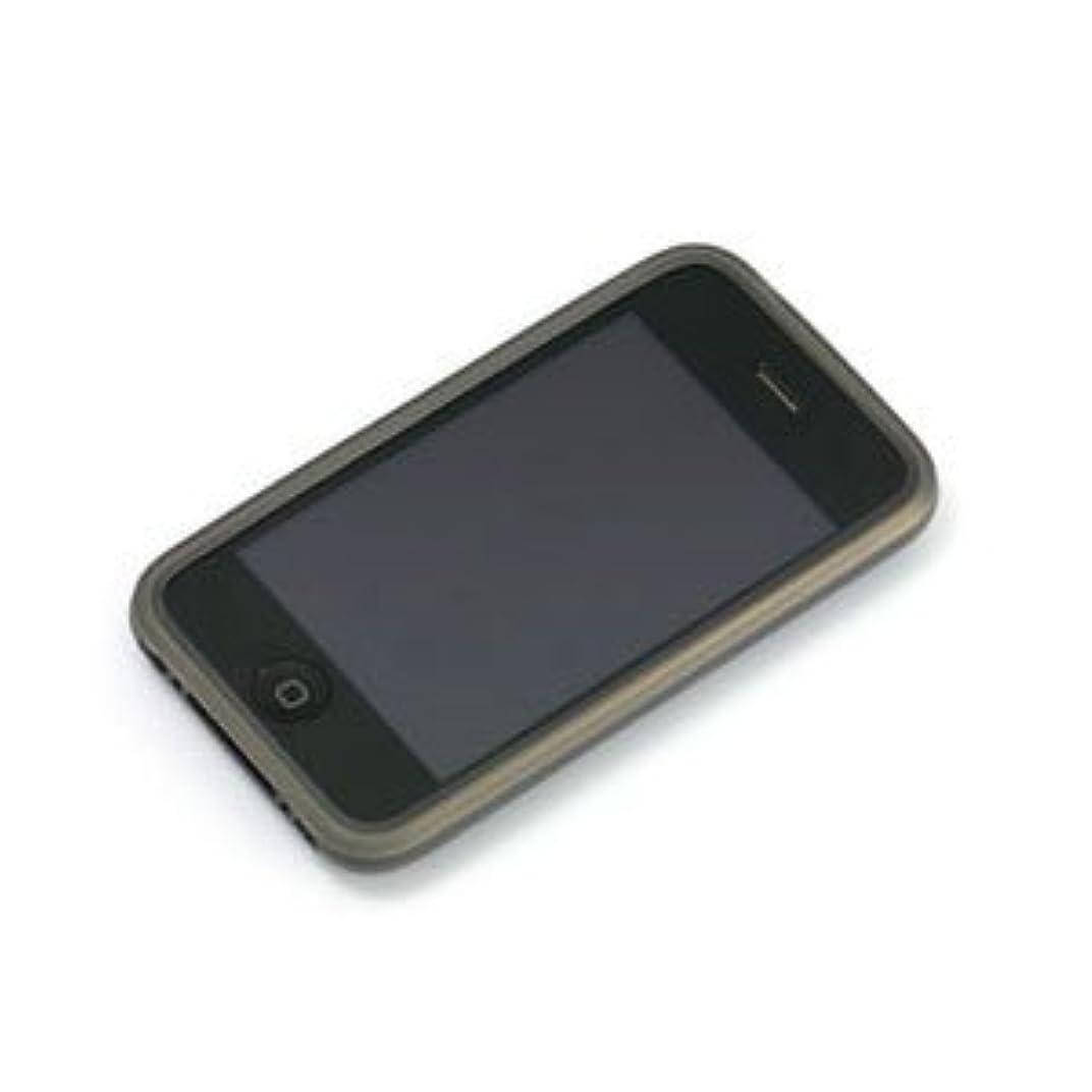 眠る無駄な爬虫類パワーサポート シリコーンジャケットセット for iPhone 3G(クリアブラック) PPK-13