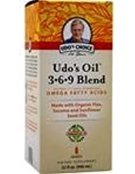 Udo's Oil 3-6-9 Blend Liquid 32 fl.oz 4個パック