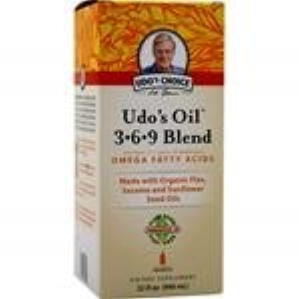 イースター早める姿を消すUdo's Oil 3-6-9 Blend Liquid 32 fl.oz 4個パック