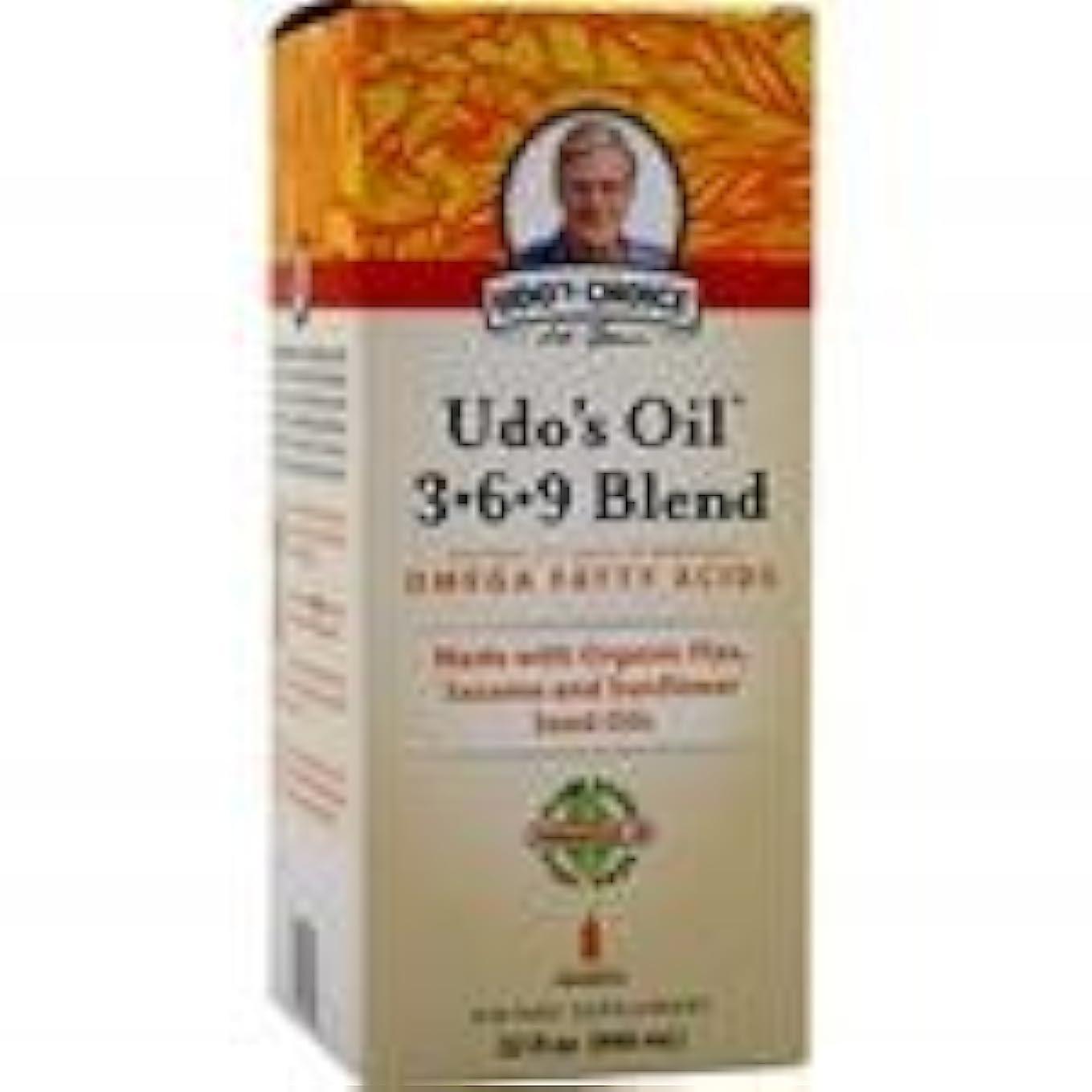 再集計所有者式Udo's Oil 3-6-9 Blend Liquid 32 fl.oz 2個パック