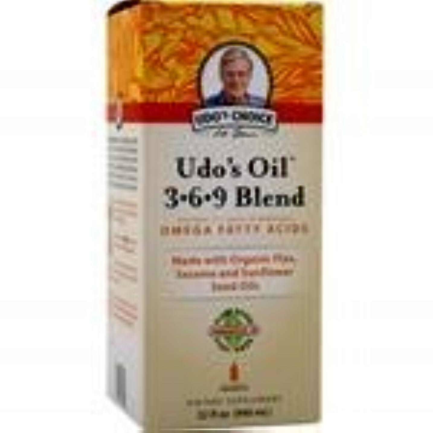 不安ガイド探偵Udo's Oil 3-6-9 Blend Liquid 32 fl.oz 4個パック