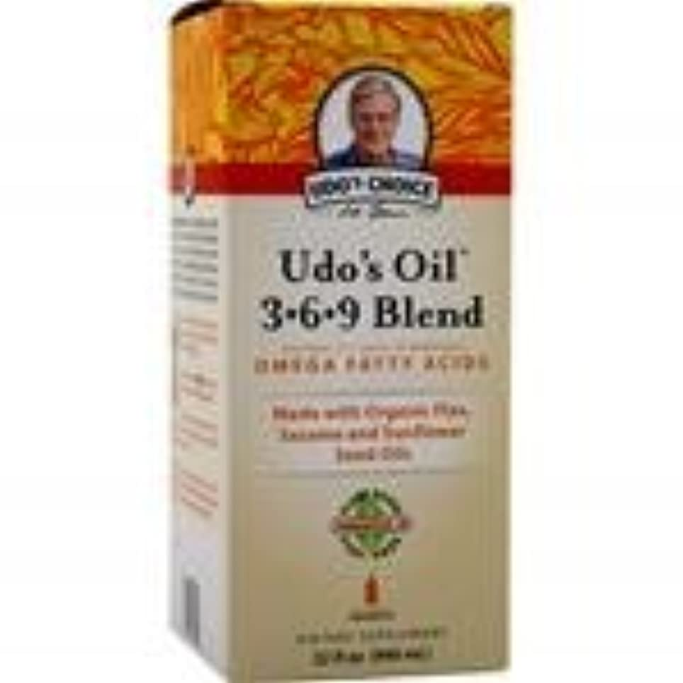 足音ビリーラベUdo's Oil 3-6-9 Blend Liquid 32 fl.oz 4個パック